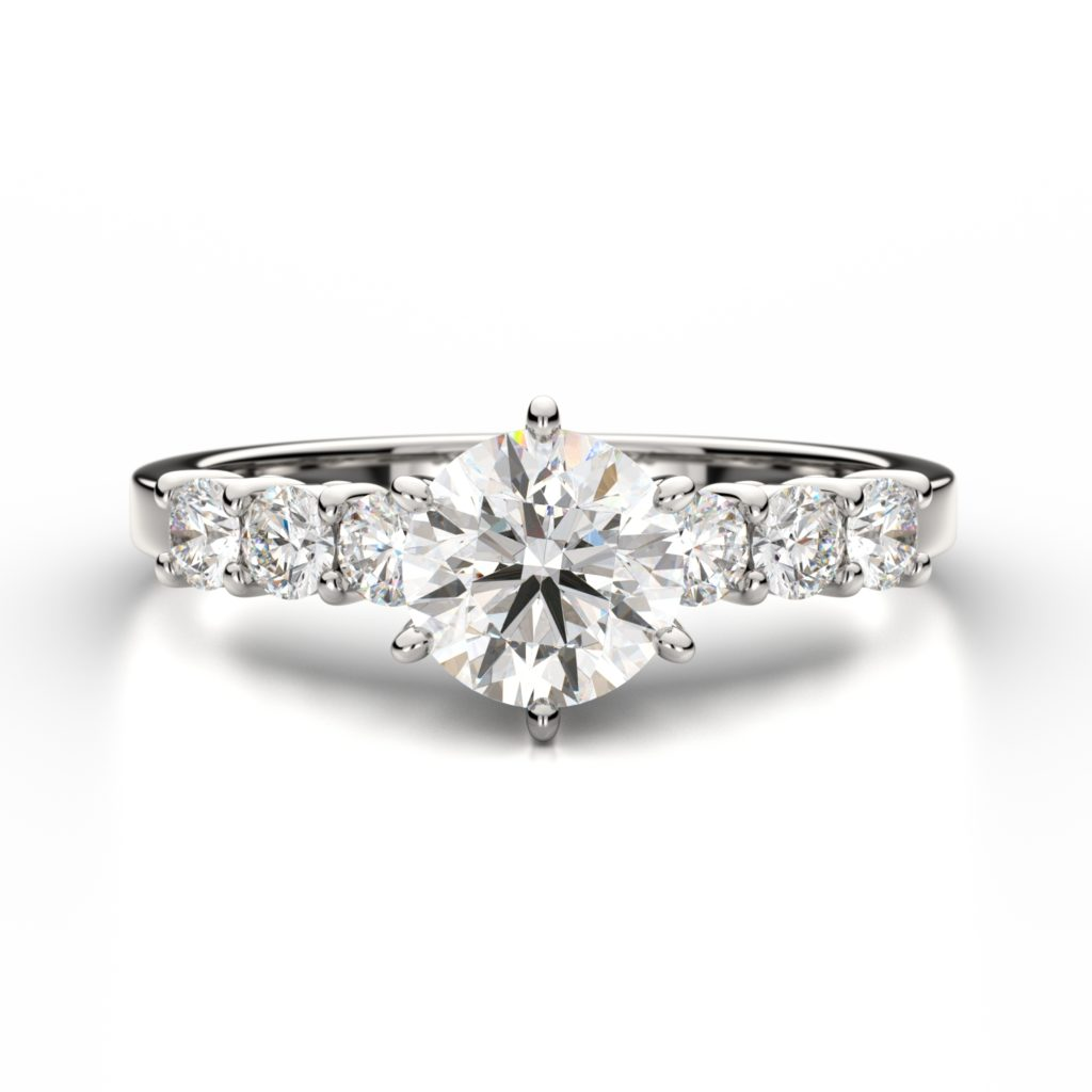 every engagement ring diamond rings liane friendly bride love frugal budget minimalist vanessa will