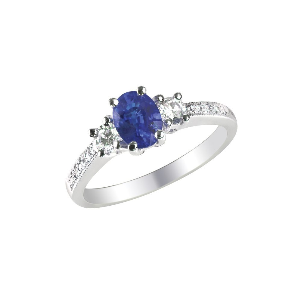 Sydney Sapphire Engagement Rings