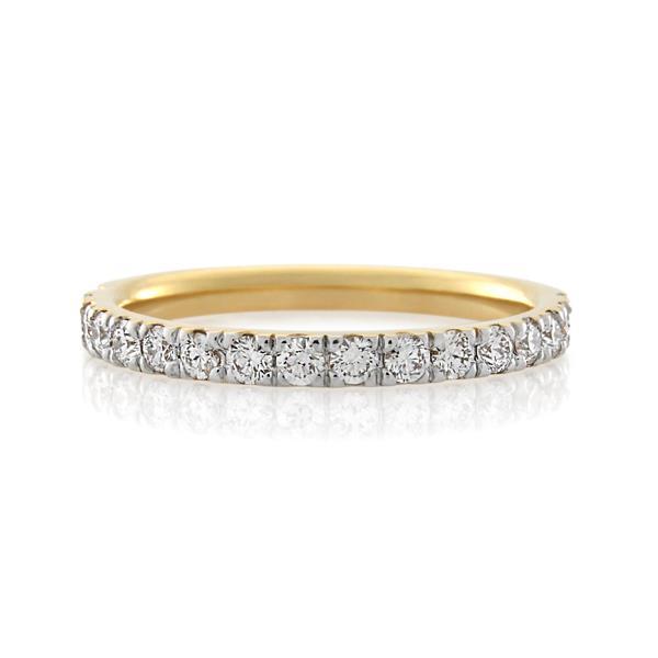 18CT Yellow Gold 0.51ct Diamond Ladies Ring - Monty Adams