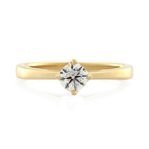 18CT Yellow Gold 0.29ct Diamond Ladies Ring - Monty Adams