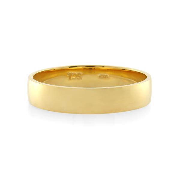 18CT Yellow Gold  Ladies Ring Width 4 mm. - Monty Adams