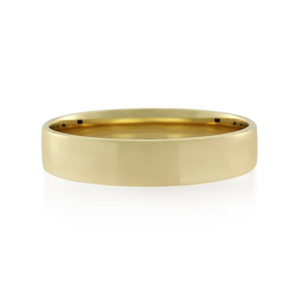 9CT Yellow Gold  Ladies Ring Width 5 mm. - Monty Adams