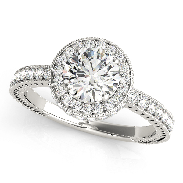 Halo Engagement Ring 50277-E