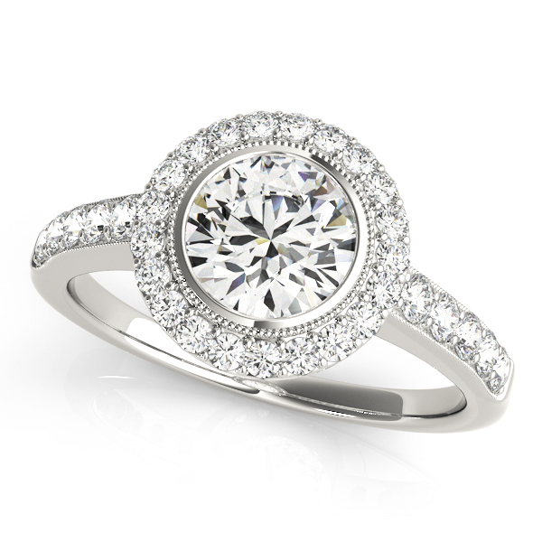 Halo Engagement Ring 50282-E