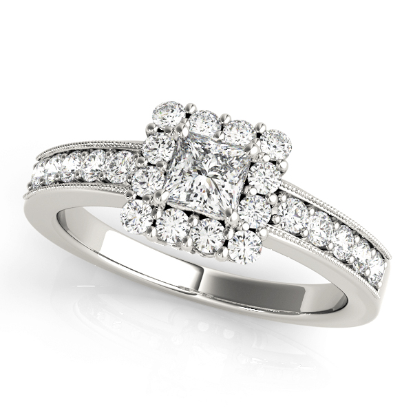 Halo Engagement Ring 50315-E