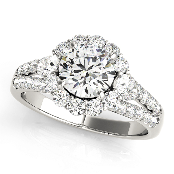 Halo Engagement Ring 50585-E