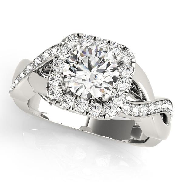 Halo Engagement Ring 50935-E