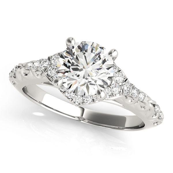 Halo Engagement Ring 50972-E