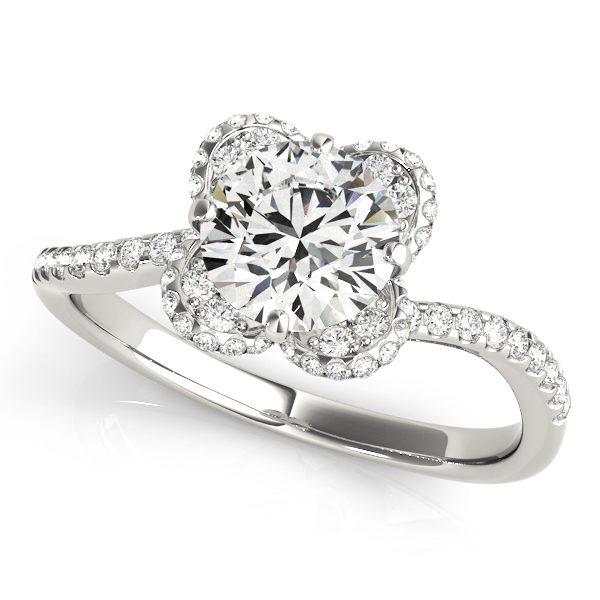 Halo Engagement Ring 51036-E