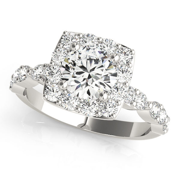 Halo Engagement Ring 51050-E