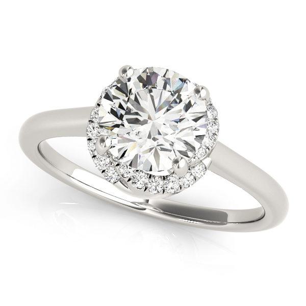 Halo Engagement Ring 84820