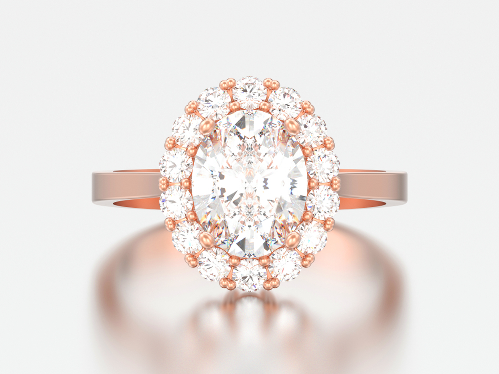 Rose Gold Engagement Ring Sydney